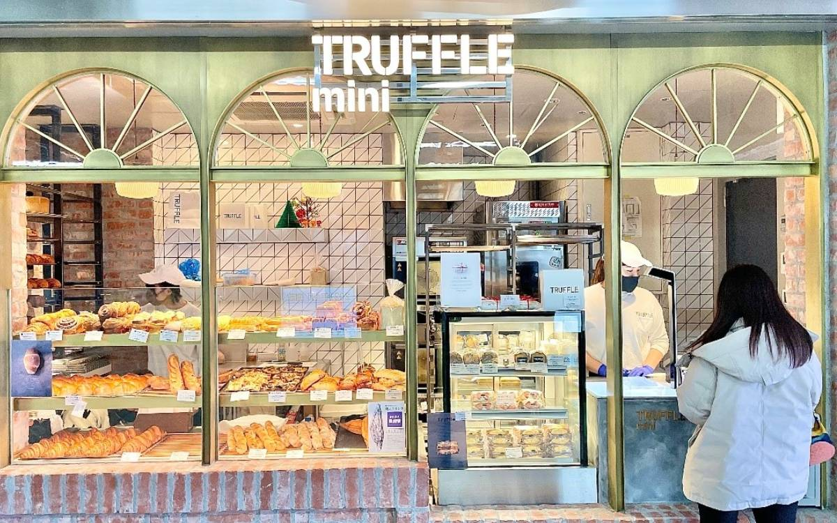 Truffle mini(トリュフミニ)新橋 で贅沢パン♡人気No.1の「白トリュフパン」