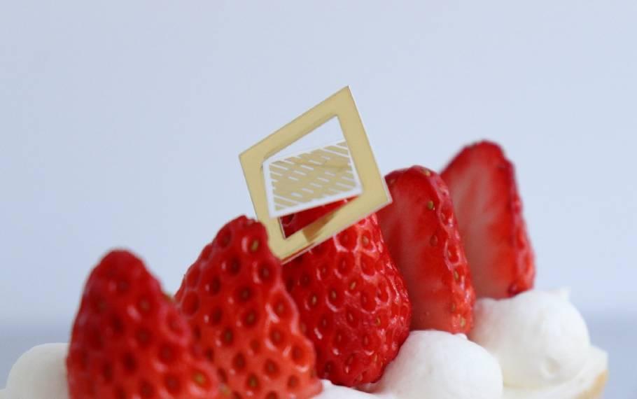 食べて驚く、イチゴの美味しさ「資生堂パーラー」