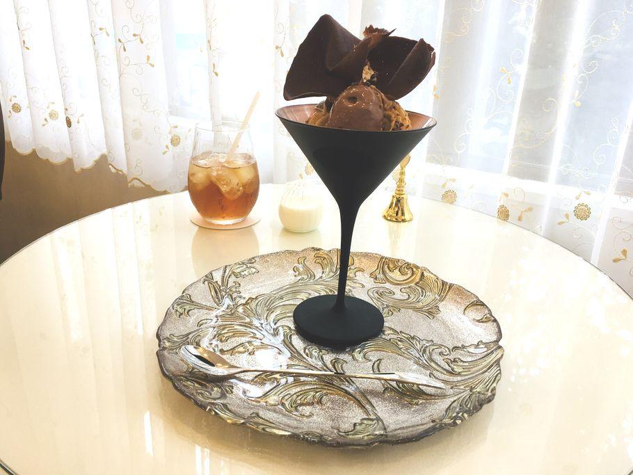 日暮里谷中銀座で別世界?!「C.teasalon&bar」でちょっぴり大人な絶品チョコレートパフェ♡