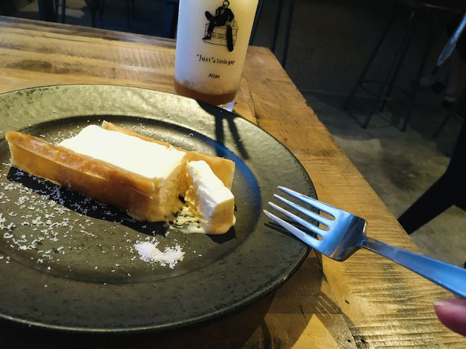 ロイヤルチーズケーキ③