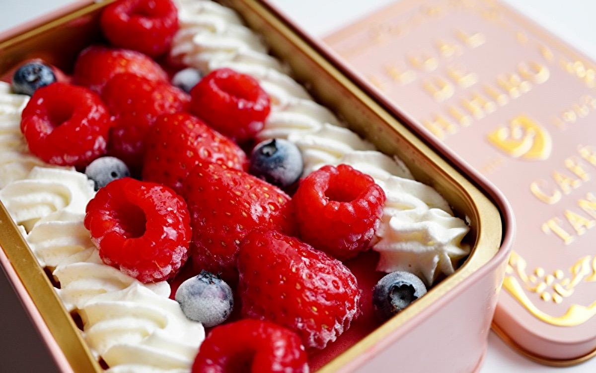 かわいすぎて即完売! 名古屋「カフェタナカ」  3種のベリーとクリームがとろける絶品ジェラート缶をお取り寄せ♡