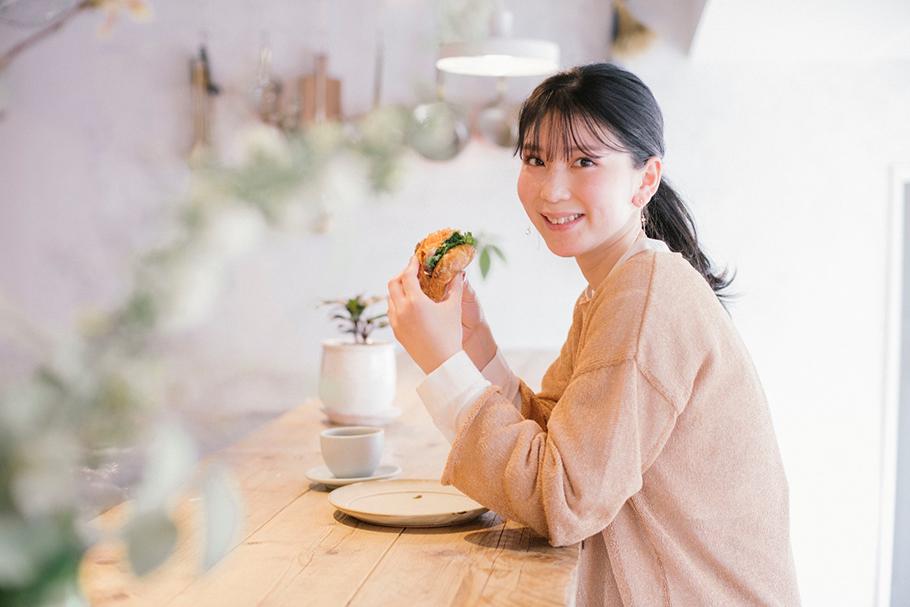 坂本リエの働く女子の街パン
