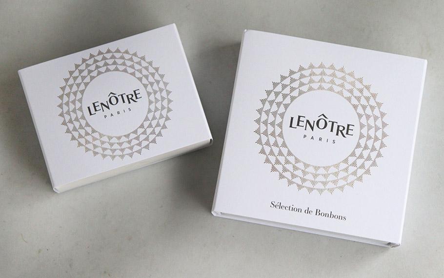 ワンランク上のバレンタインのお返し「LENÔTRE<ルノートル>」の絶品キューブ型のガナッシュ&プラリネアソート