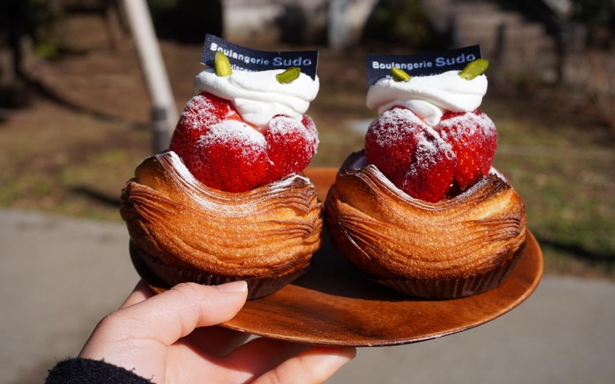 『Boulangerie Sudo(ブーランジェリースドウ)』世田谷は松陰神社前にある行列必須ベーカリーで「萌え断」いちごデニッシュ♡