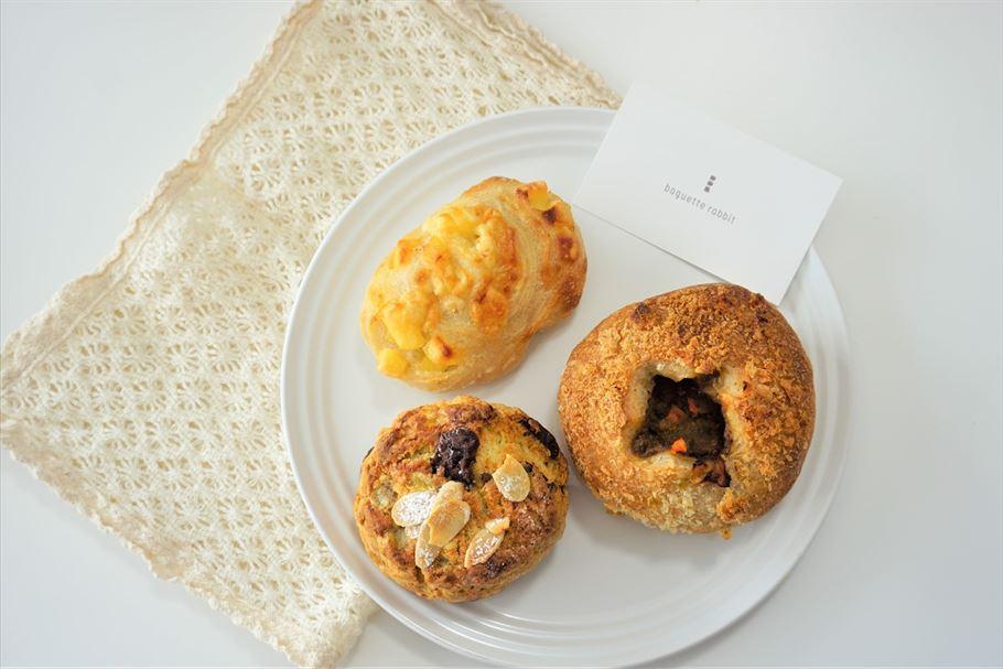 「 baguette rabbit(バゲットラビット)自由が丘店」はミニサイズのパンがたくさん!いろいろ食べられてお得気分