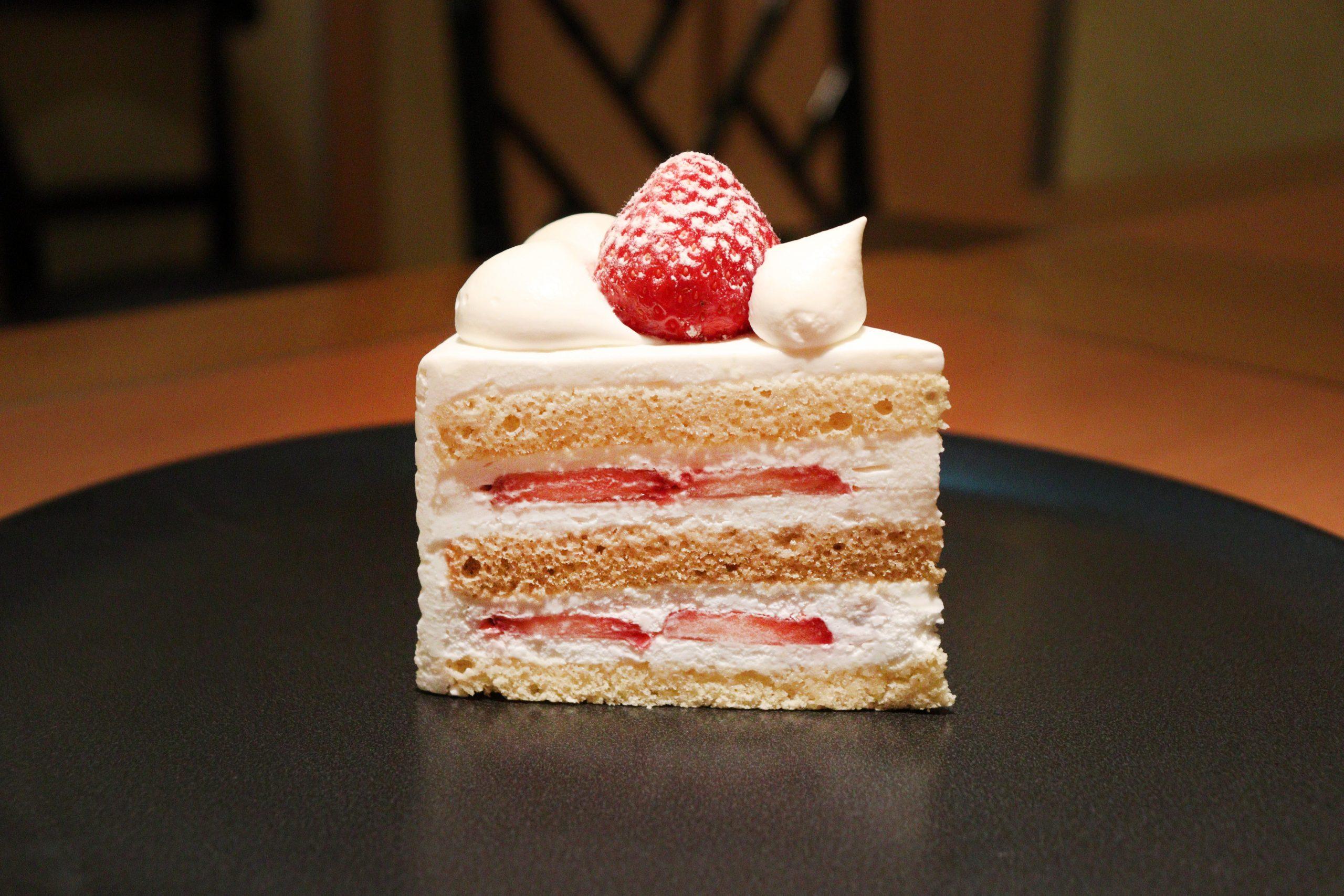 ホテルニューオータニのショートケーキ