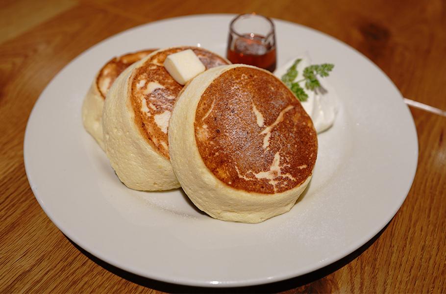 YORKYS BRUNCH パンケーキ(プレーン)1,000円