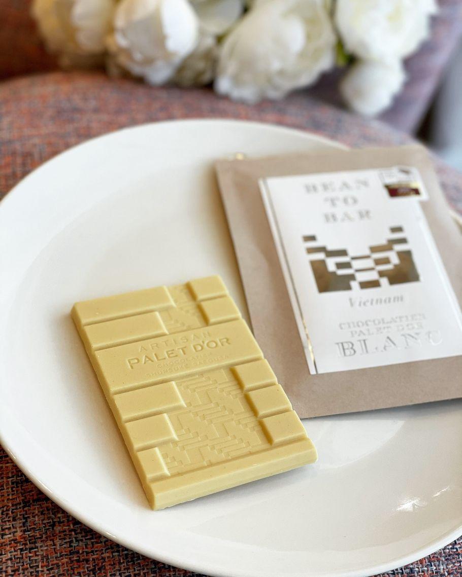 世界で唯一!美しい白の世界。bean to barのホワイトチョコレート専門店「ショコラティエ パレ ド オール ブラン」