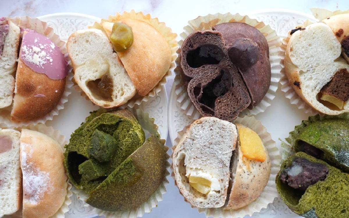 """もはや""""ケーキ""""なベーグル。「パン&デリ de mage(デマージ)」(兵庫・明石)通販でしか買えない、冷凍ならではの国産小麦の美味しさが詰まった、ケーキベーグルセット"""