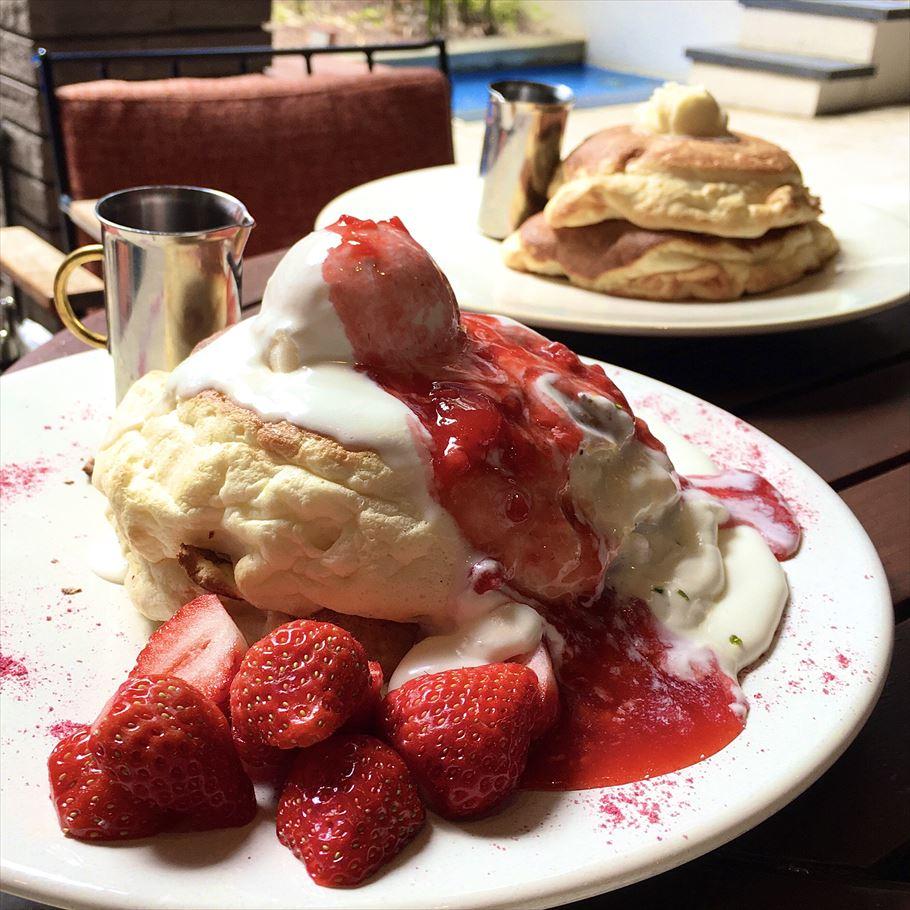 博多の駅近で味わえるリゾート気分!「WITH THE STYLE FUKUOKA」のふわふわすぎるパンケーキ