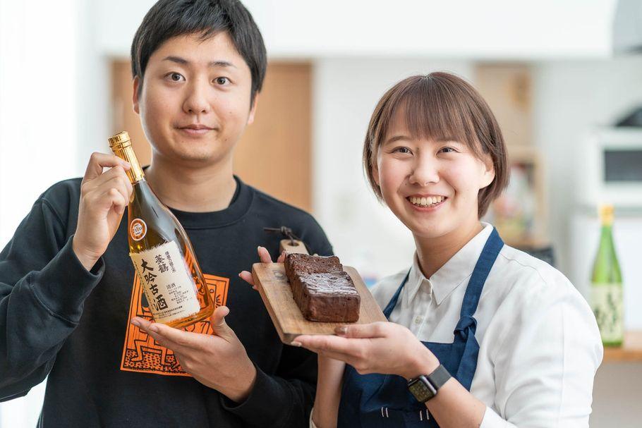 日本酒が香りすぎて、たまらない「KAKERI」のガトーショコラ。クラウドファンディングで誕生
