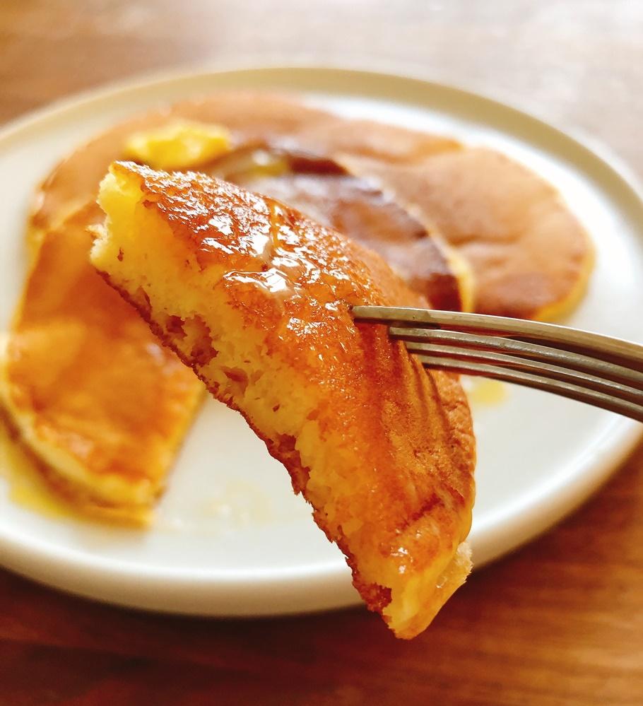 「たっちゃんずパンケーキ部」おススメのパンケーキミックスを実際に作ってみた! その1「カフェ&ブックス ビブリオテーク」は万人受けする王道感!