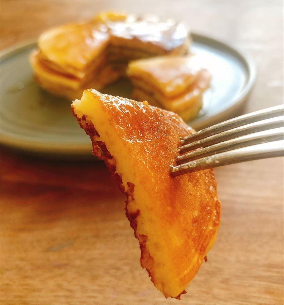 「THE GREAT BURGER」は食事系パンケーキとしても最適!