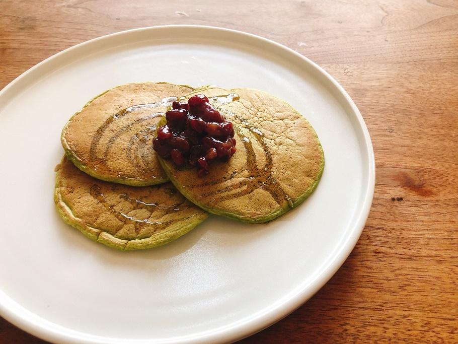 たっちゃんずパンケーキ部」おススメのパンケーキミックスを実際に作ってみた! その3「梅園」は抹茶好きにはたまらない味