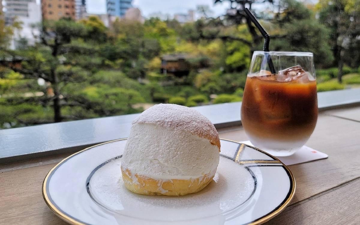 """神戸の「相楽園」で日本庭園を眺めながら、""""檸檬香る""""爽やかなマリトッツォ"""