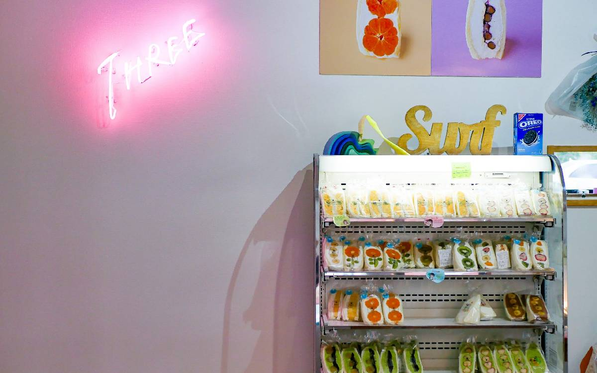 エアリーなクリームたっぷり!午前中で売り切れる「Fruits sand three」移転NEW OPEN (福岡県嘉麻市)