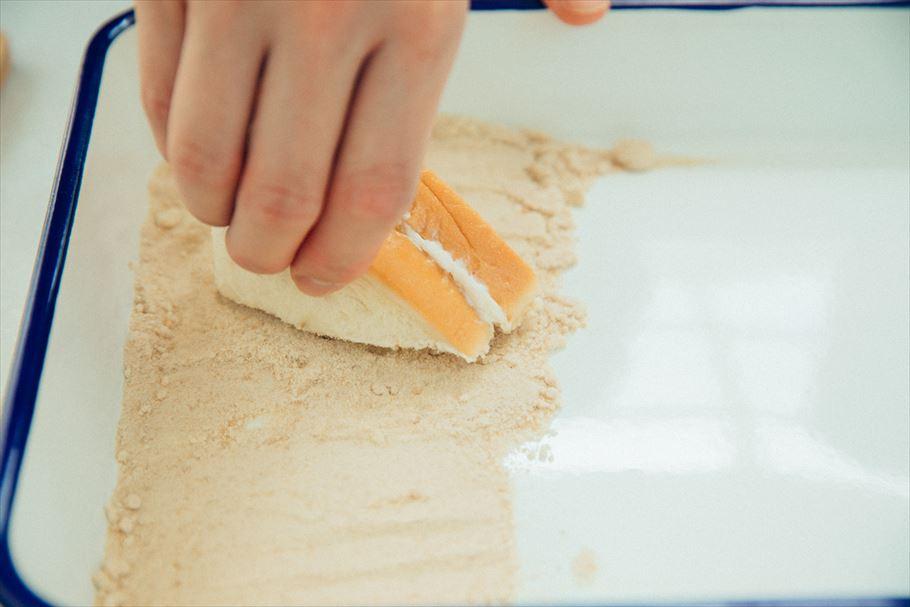 フルーツサンド王子にしむーさん×小南光司さんの男子クッキング「あぶりフルーツサンド」の作り方!