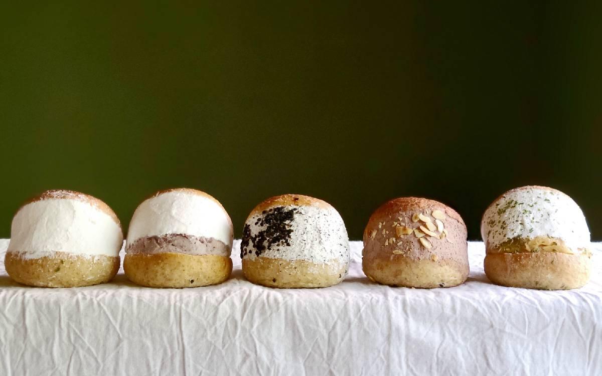 北軽井沢の大自然の中でつくられる大豆のパン♡「まーずキッチンの低糖質マリトッツォ」