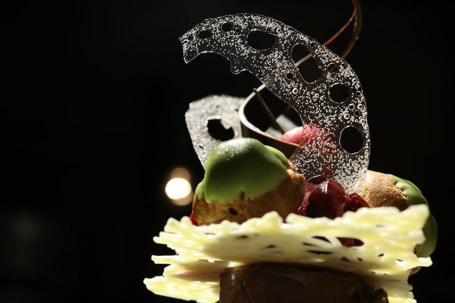 本当は教えたくない、毎月変わる魔法のパフェ。グリオットソルベとチョコアイスがたまらない「patisserie de bon coeur」(武蔵小山)