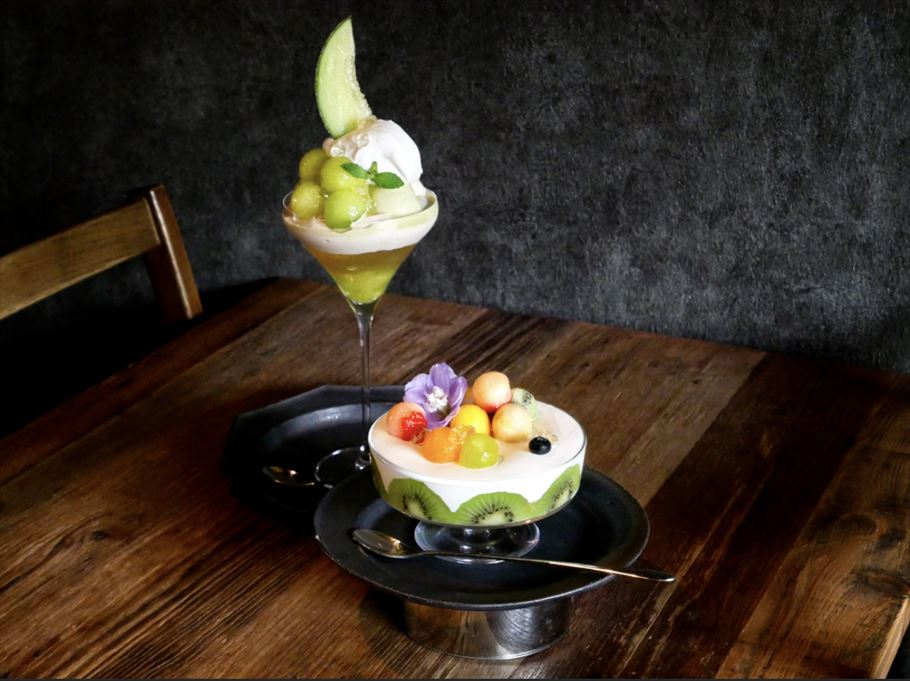 断面萌えなパフェ。京都で楽しむ、金沢の人気パルフェ専門店「ドルミール 八坂の塔」