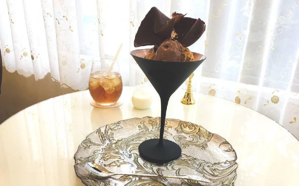 日暮里谷中銀座で別世界!?「C.teasalon&bar」でちょっぴり大人な絶品チョコレートパフェ♡