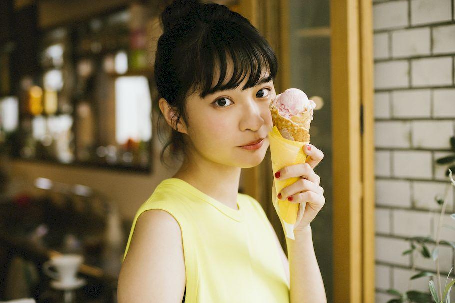 「#ふうかとアイス」モデル・名和風歌さんが一番食べたい「Sunday Bake Shop」(幡ヶ谷)の手づくりアイス