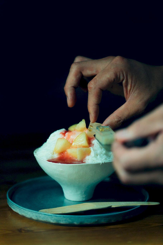銀座松屋で明日から。白あんとカカオと赤紫蘇、桃の奇跡のマリアージュ。絶対食べるべきSeiste(セイスト)のかき氷