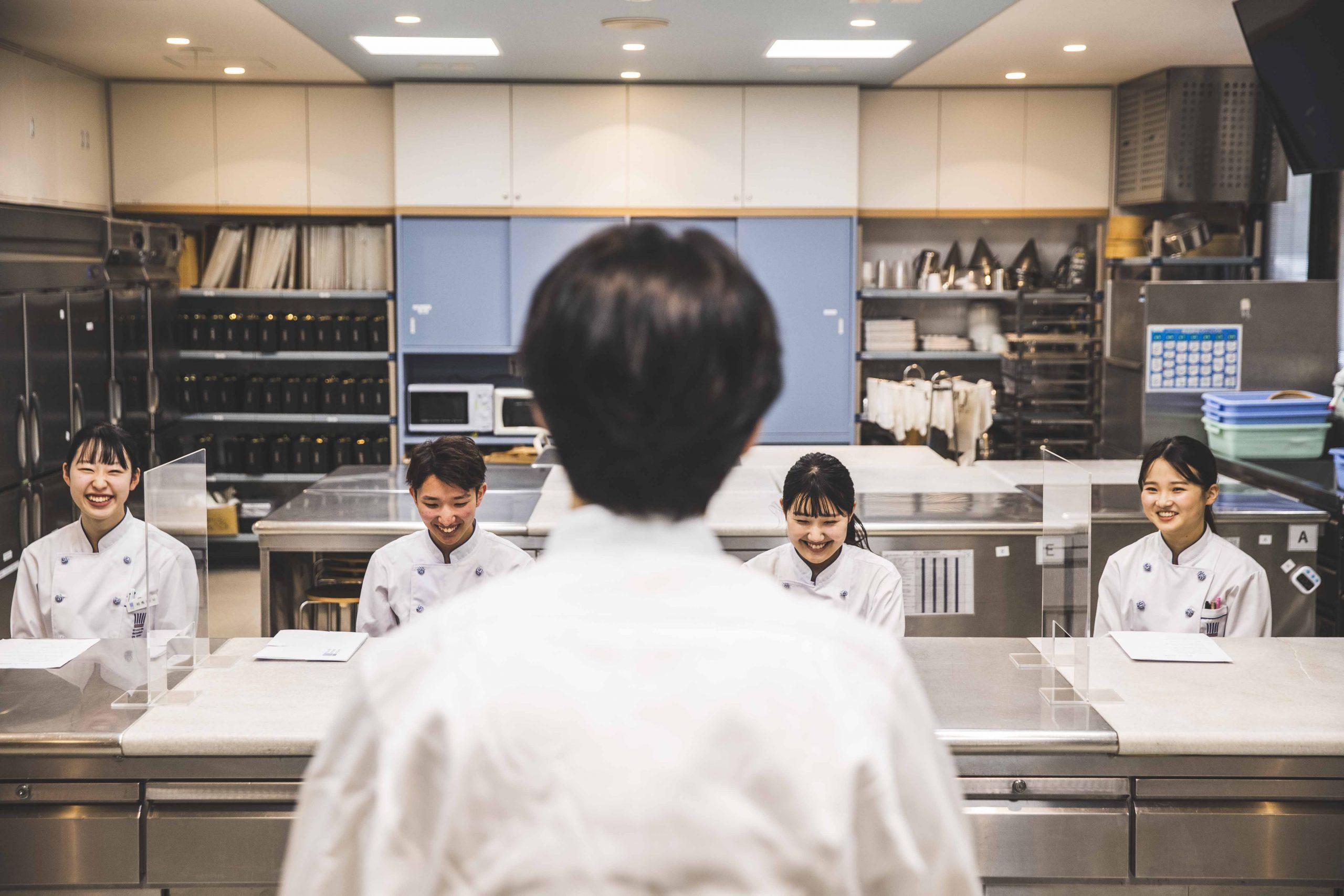 ufu.プレゼンツ~昆布智成×東京製菓学校。未来のパティシエへ、スペシャルトークvol.01