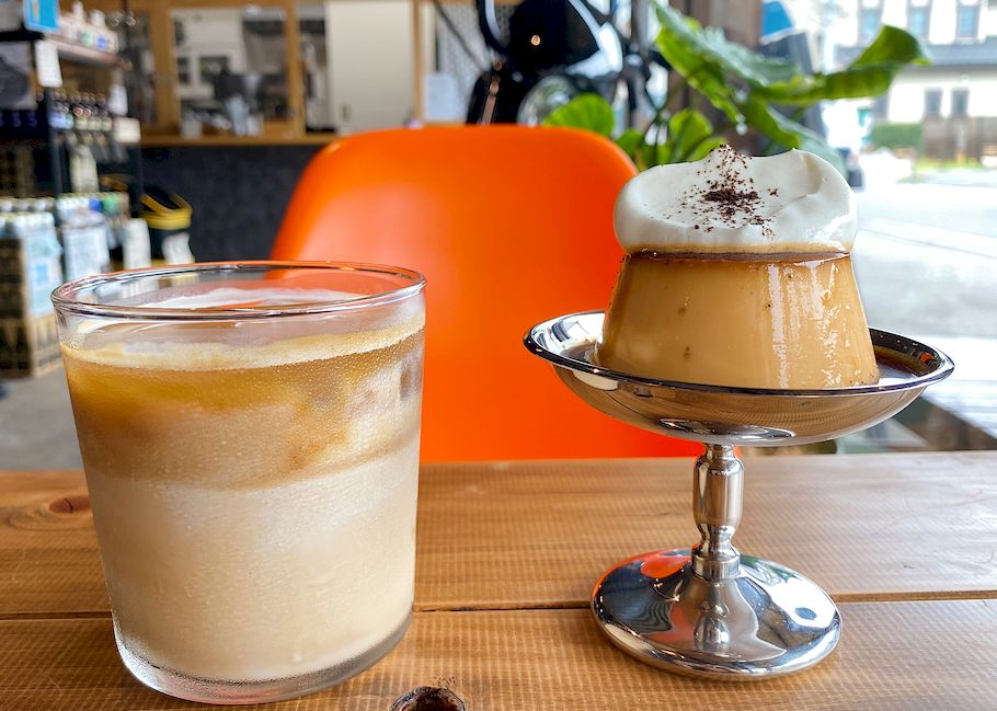 酒屋が作る、2種類の卵感が凄すぎるプリン。川越の穴場コーヒーショップ 「LEC COFFEE」 (埼玉県川越)