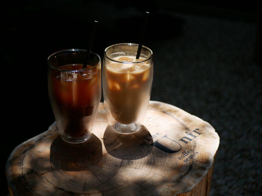 アイス×アーモンドの3段プリン。京都「The Unir coffee」sensesさんのこだわり