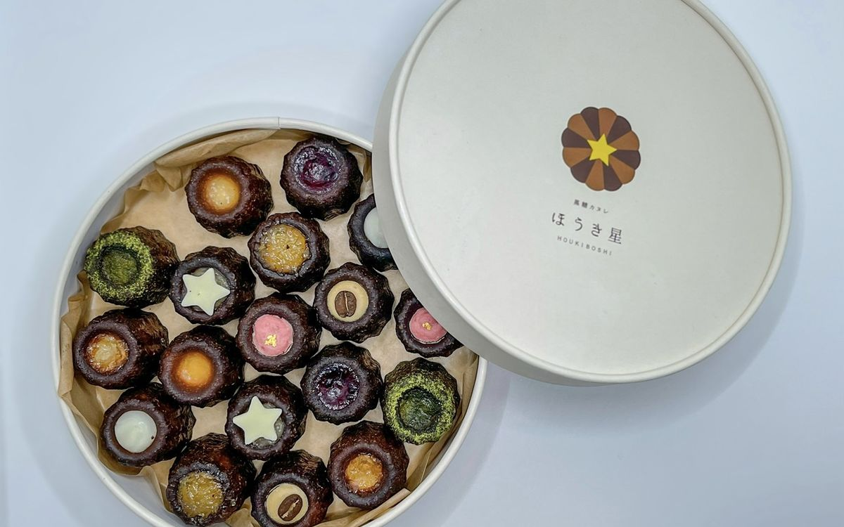 お取り寄せで人気。沖縄の優しい素材で作られた「ほうき星」の黒糖カヌレ