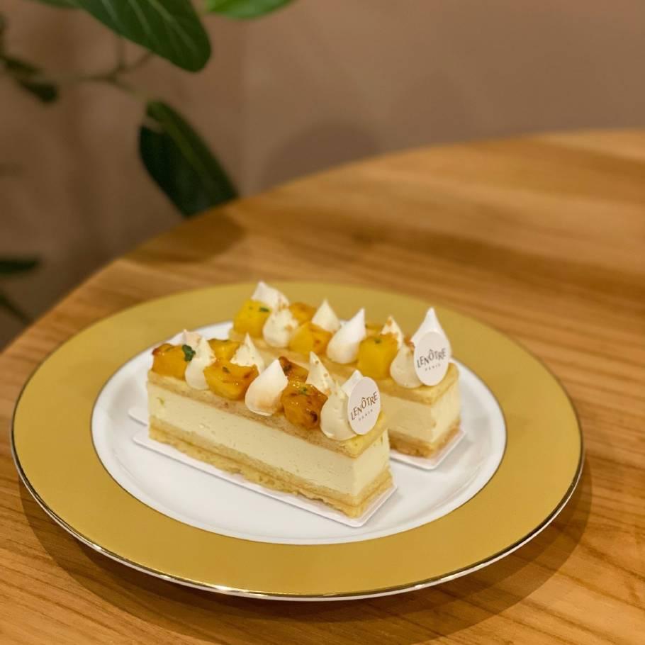 買えるのは銀座三越だけ。LENÔTRE<ルノートル>流バカンス気分で楽しむ夏季限定の絶品ケーキ