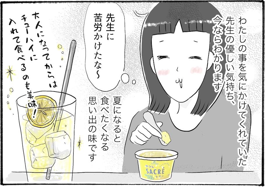 【日雇いまきこのプチプラスイーツ記特別版】vol.8学校の職員室で食べた甘酸っぱいアイスとは