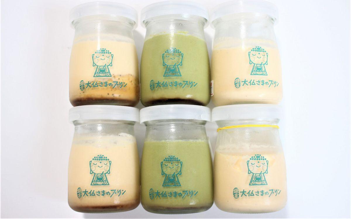 2021年4月鎌倉にNEW OPEN!地元食材で作るなめらかさが特徴のプリン専門店「大仏さまのプリン」