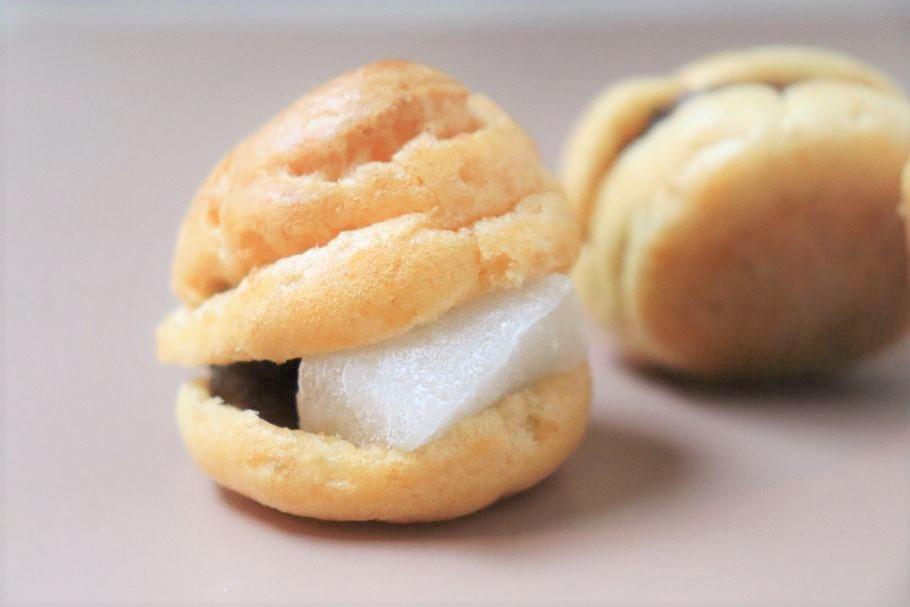 シュー×最中。一度食べたら忘れられない食感! モダン和菓子の先駆け早稲田「nanarica」のグルテンフリーの「シュー最中」