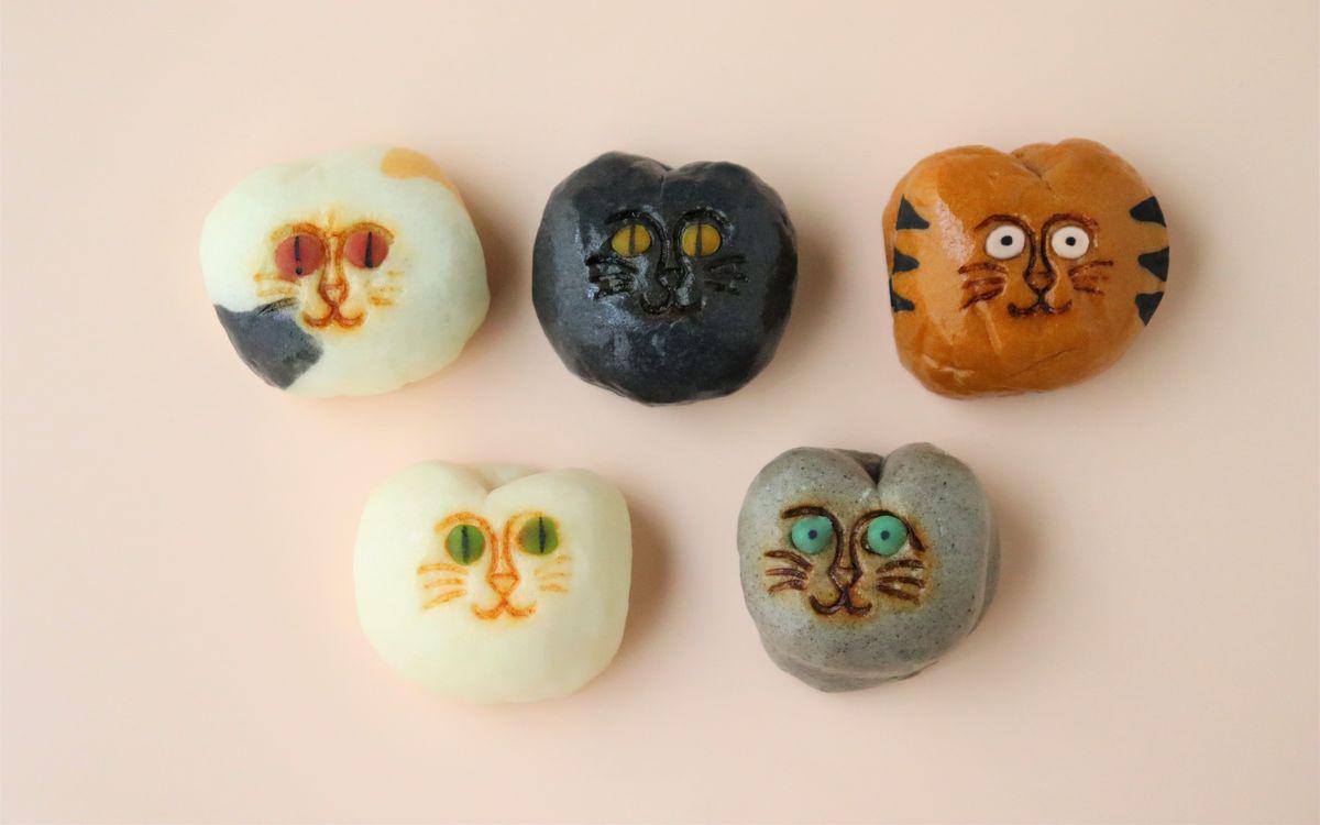 3代続く老舗和菓子屋が作り出す、かわいすぎる「招福猫子まんじゅう」。誕生した秘密とは?(飛騨高山・稲豊園)