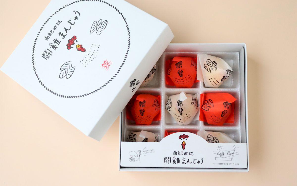 トントン相撲ができる? 和歌山が生んだかわいすぎる「闘鶏まんじゅう」。創業87年、菓匠二宮の伝統と挑戦