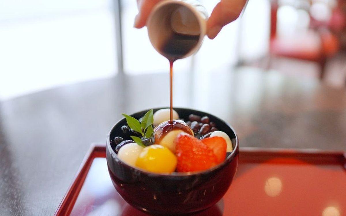 喫茶室『サロン・ド・テ』あの神戸風月堂が本気で作ったあんみつとは?