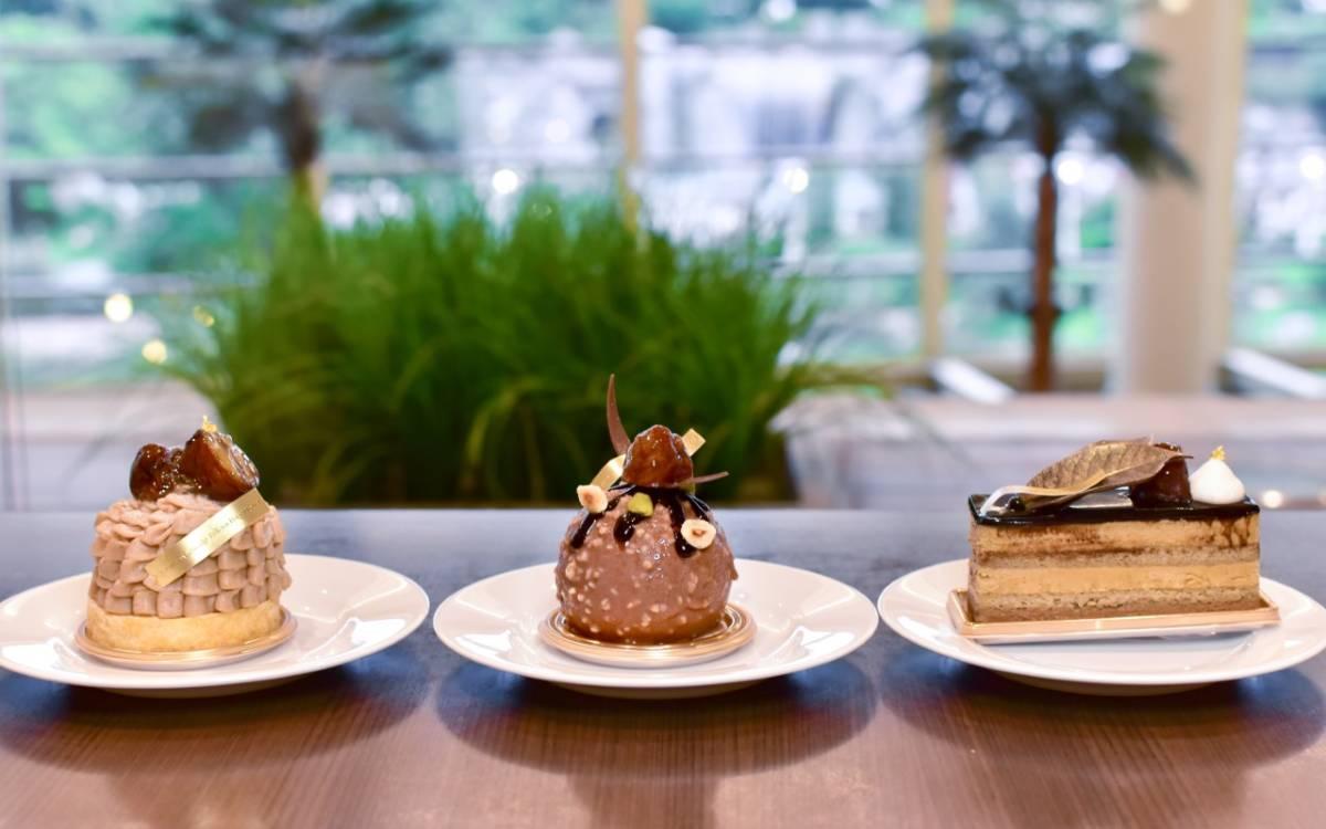 """食べられるのは9月中だけ!「シェラトン・グランデ・トーキョーベイ・ホテル」内にあるカフェ トスティーナで秋の味覚が楽しめる""""マロンスイーツ""""3種を試食レポ"""