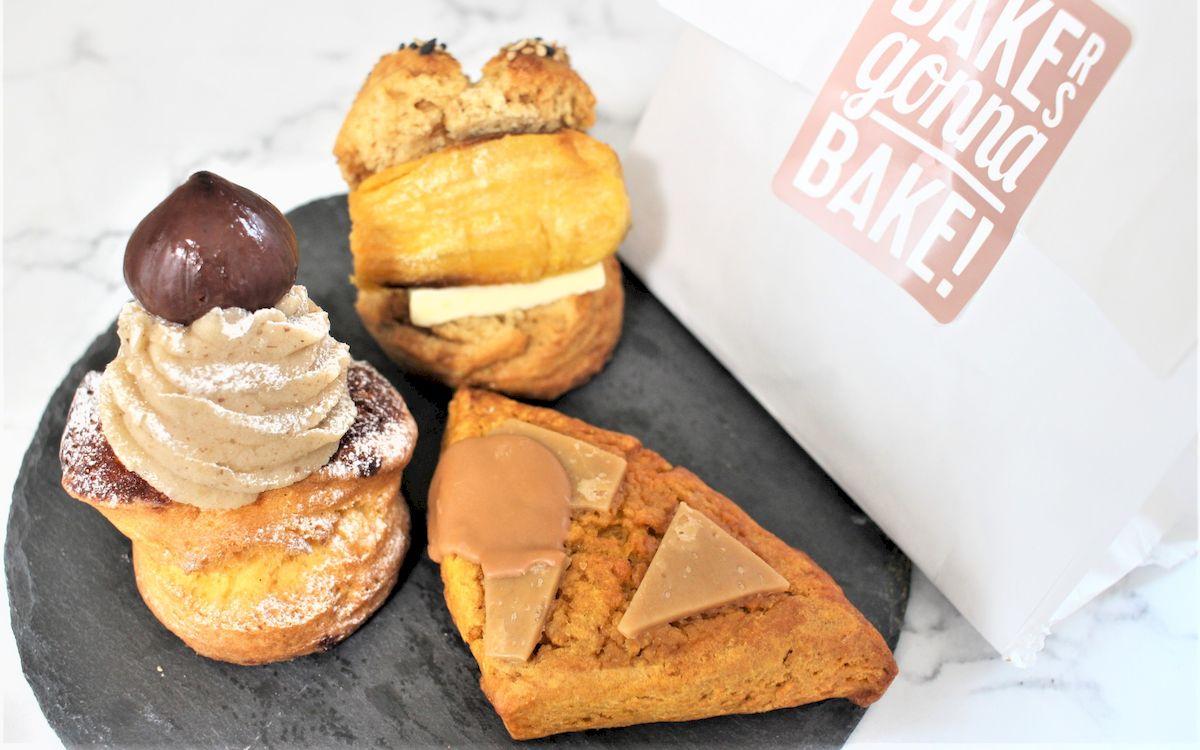 東京駅のスコーン専門店「BAKERS gonna BAKE(ベイカーズ ゴナ ベイク)」に秋の味覚が大集結!芋・栗・かぼちゃの焼きたてスコーン食べてみた