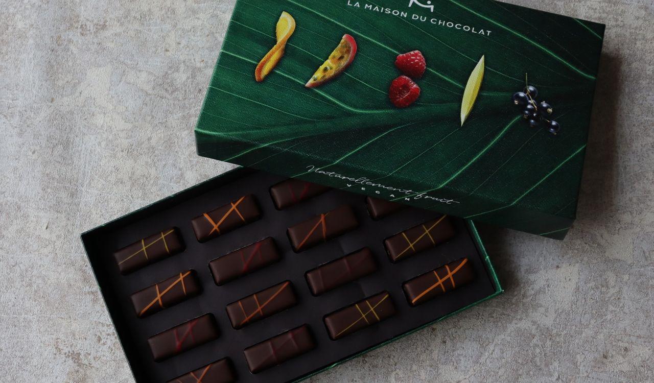 1粒食べて感動する最高のビーガンチョコレート。あの「ラ・メゾン・デュ・ショコラ」が作り出す傑作と、飽くなき挑戦